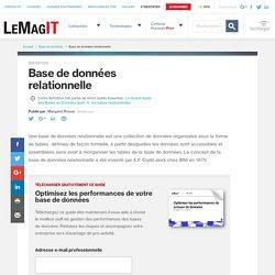 Que signifie Base de données relationnelle? - Définition par WhatIs.com