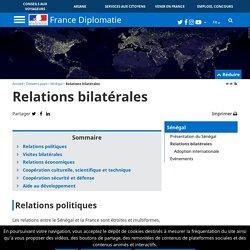 Relations bilatérales - diplomatie.gouv.fr