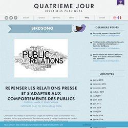 Repenser les relations presse et s'adapter aux comportements des Publics - Quatrième Jour