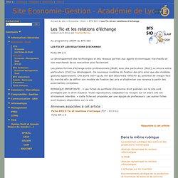 EM2.5 Tic les les relations d'échange