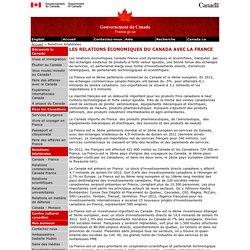 Relations économiques Canada-France