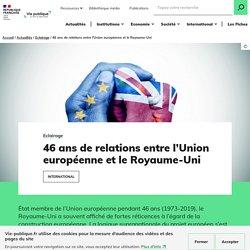46 ans de relations entre l'Union européenne et le Royaume-Uni