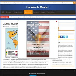 La langue : quelle place dans les relations internationales ? (article + carte)