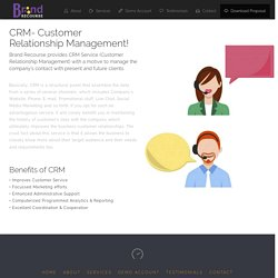 Crm service providers
