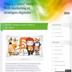 Efap 3 - 2011/ 2012 Web marketing et stratégies digitales