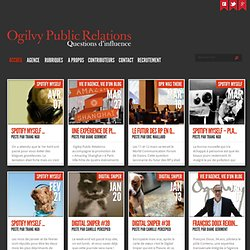 Questions d'influence. Le blog d'Ogilvy Public Relations Worldwi