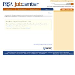 Cleveland, Ohio Sales Counselor Job at Judson Senior Services - Public Relations Society of America (PRSA)
