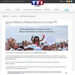 Service Relations Téléspectateurs du Groupe TF1
