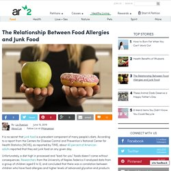 The Relationship Between Food Allergies And Junk Food