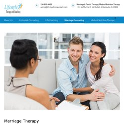 Marriage Relationship Counseling for Marital Problems - Married Couples Therapy Counseling