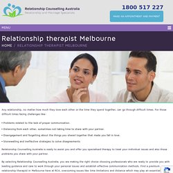 Follow The Best Relationship Therapist Melbourne