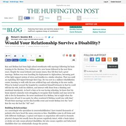 Would Your Relationship Survive a Disability?
