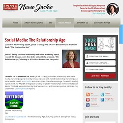 Social Media: The Relationship Age | The Edge