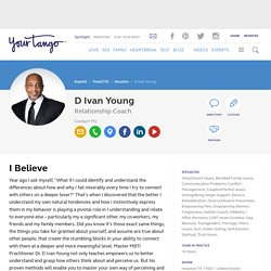 Dr. D Ivan Young - Relationship Coach - Houston, TX