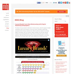 Luxury Brands' Love-Hate Relationship with Digital Marketing [Infographic] - South Florida Advertising Agency, Interactive Marketing, West Palm Beach Ad Agency, Boca Raton Ad Agency, MDG Advertising Blog
