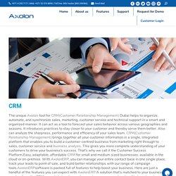 Customer Relationship Management Software UAE