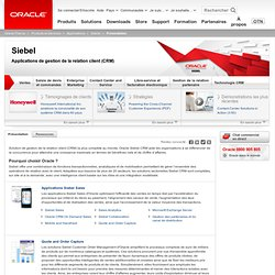 Oracle - Siebel