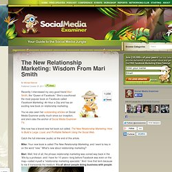 The New Relationship Marketing: Wisdom From Mari Smith