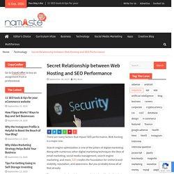 Secret Relationship between Web Hosting and SEO Performance
