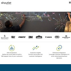 Shoutlet - Enterprise Social Management Software