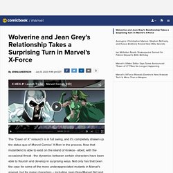 Wolverine and Jean Grey's Relationship Takes a Surprising Turn in Marvel's X-Force