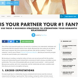 Is your partner your #1 fan?