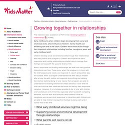 Growing together in relationships