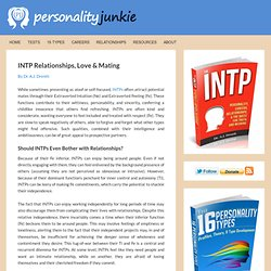 INTP Relationships, Love & Mating