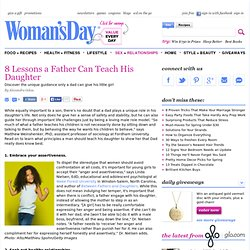 Father Daughter Relationships - Life Lessons at WomansDay