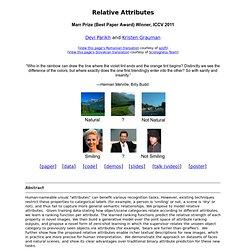 Relative Attributes
