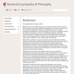 Defining and understanding moral relativism philosophy essay