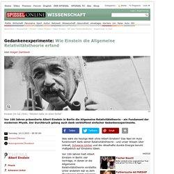 Albert Einstein: 100 Jahre Relativitätstheorie - Experimente im Kopf