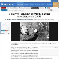 Sciences : Relativité: Einstein contredit par des chercheurs français