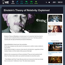 Einstein's Theory of Relativity: Explained