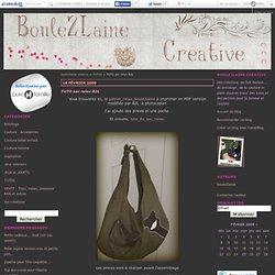 TUTO sac relax B2L - boule2laine créative