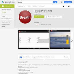 Relaxation Breathing - Aplicaciones de Android en Google Play