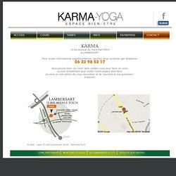 Karma Yoga - Contactez le centre de yoga et de relaxation Karma Yoga à Lambersart près de Lille