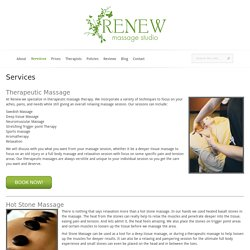 Deep Tissue, Hot Stone, Sports, Relaxation, Swedish, Couples Massage in Wash Park, Denver