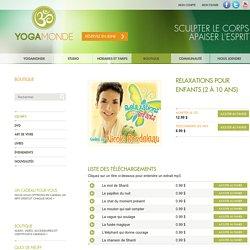 Relaxations pour enfants (2 à 10 ans) // YogaMonde