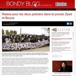 Relaxe pour les deux policiers dans le procès Zyed et Bouna
