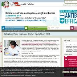 salute_gov_it 25/11/19 Relazione Piano nazionale OGM, i risultati del 2018