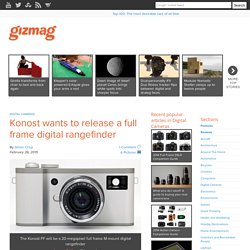 Konost wants to release a full frame digital rangefinder