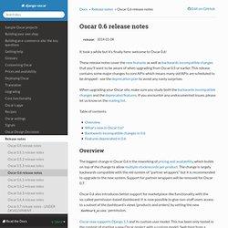 Oscar 0.6 release notes — django-oscar 0.7 documentation