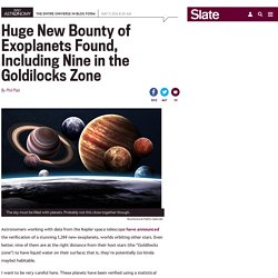 New release from Kepler reveals more than 1,200 new alien exoplanets.