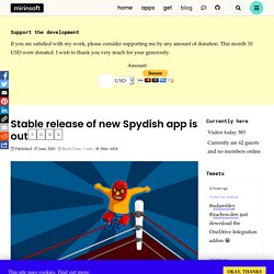 Stable release of new Spydish app is out❗□□□