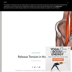 Release Tension in the Psoas