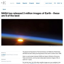 NASA has released 3 million images of Earth - these are 6 of the best