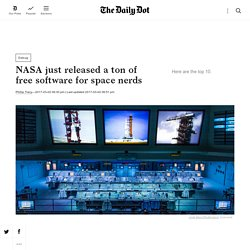 NASA just released its 2017 Software Catalog to the Public for Free