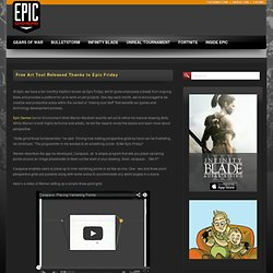 Free Art Tool Released Thanks to Epic Friday