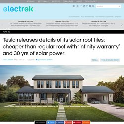 Tesla Begins Solar Tile Deliveries & Installation